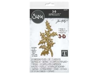 Sizzix Impresslits Emboss Folder Tim Holtz 3D Holly