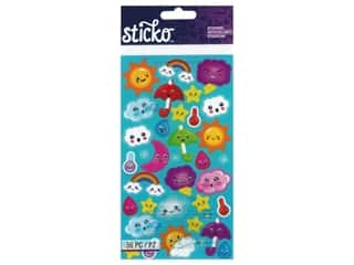 scrapbooking & paper crafts: EK Sticko Stickers Weather Repeats
