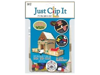 craft & hobbies: Pepperell Kit Wood Just Clip It Barn Yard House