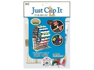 craft & hobbies: Pepperell Kit Wood Just Clip It Ferris Wheel