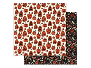 Echo Park Collection Trick Or Treat Paper 12 in. x 12 in. Pumpkins (25 pieces)