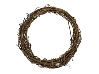 straw wreath: Darice Wreath Grapevine 10 in.