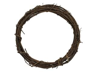 straw wreath: Darice Wreath Grapevine 12 in.