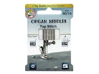 Organ Needle Company Machine Needles Top Stitch Size 90/14 5 pc