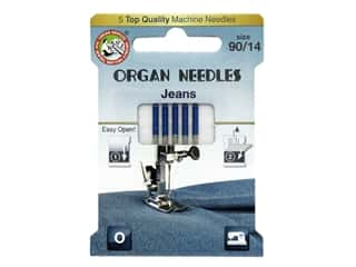 Organ Needle Company Machine Needles Jeans 90/14 5 pc