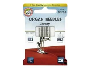 Organ Needle Company Machine Needles Jersey Size 90/14 5 pc