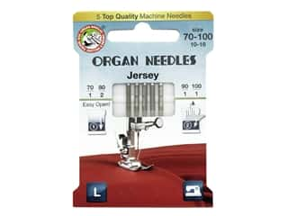 Organ Needle Company Machine Needles Jersey Size 70-100 5 pc