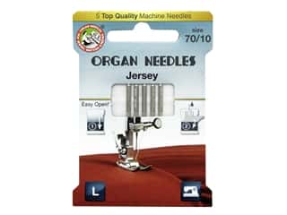 Organ Needle Company Machine Needles Jersey Size 70/10 5 pc