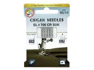 Organ Needle Company Machine Needles ELX705 CR SUK Size 90/14 5 pc