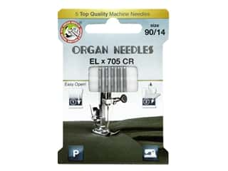 Organ Needle Company Machine Needles ELX705 CR Size 90/14 5 pc