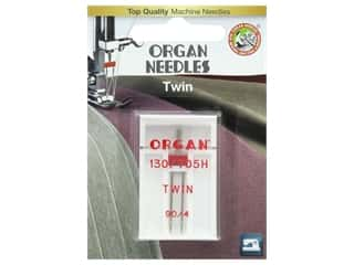 Organ Needle Company Machine Needles Twin Size 90\4mm 1 pc