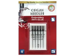 Organ Needle Company Machine Needles Anti Glue Size 75/11 5 pc