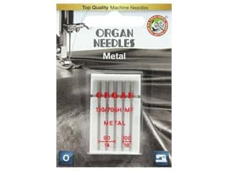 Organ Needle Company Machine Needles Metal Size 90-100 5 pc