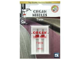 Organ Needle Company Machine Needles Twin Size 90/2mm 2 pc