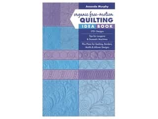 Stash By C&T Organic Free Motion Quilting Idea Book