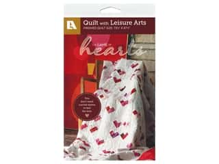 books & patterns: Leisure Arts A Game Of Hearts Pattern