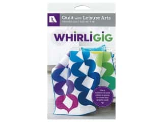 Leisure Arts Whirligig Quilt Pattern