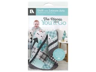 Leisure Arts The Places You'll Go Quilt Pattern