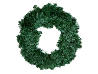 novelties: Darice Wreath Colorado Pine 200 Tips 24 in.