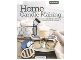 candle color: Leisure Arts Make & Give Home Candle Making Book