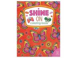 Leisure Arts Shine On Coloring Book