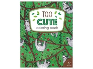 books & patterns: Leisure Arts Too Cute Coloring Book