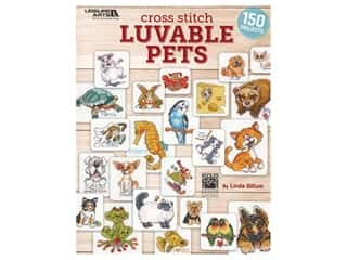 Leisure Arts Cross Stitch Luvable Pets Book