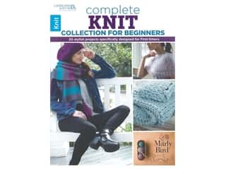 books & patterns: Leisure Arts Complete Knit Collection For Beginners Book