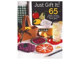 yarn & needlework: Leisure Arts Just Gift It! Plastic Canvas Book
