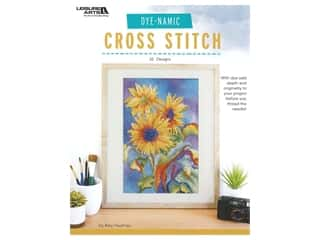 Leisure Arts Dye Namic Cross Stitch Book