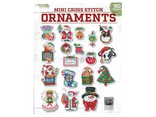 books & patterns: Leisure Arts Mini Cross Stitch Ornaments Book