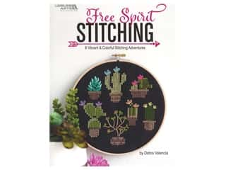 books & patterns: Leisure Arts Free Spirit Stitching Embroidery Book