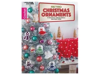 books & patterns: Leisure Arts Retro Christmas Ornaments Crochet Book
