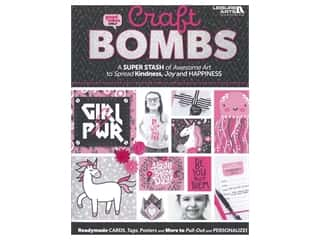 Leisure Arts Craft Bombs Book