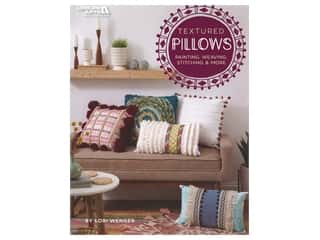 yarn: Leisure Arts Textured Pillows Book