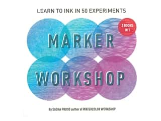 Abrams Marker Workshop 2 Books In 1 Book