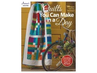 Annie's Quilts You Can Make In A Day Book