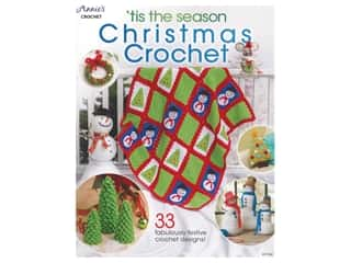 books & patterns: Annie's Tis The Season Christmas Crochet Book