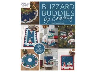 books & patterns: Annie's Blizzard Buddies Go Camping Book