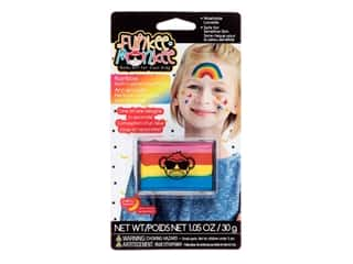 craft & hobbies: Funkee Munkee Face Paint Rainbow Palette Rainbow