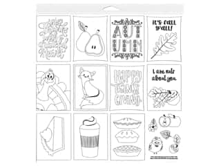 white gel pen: Photo Play Collection Mad 4 Plaid Fall Paper 12 in. x 12 in. Color Me Sheet (25 pieces)