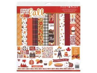 Photo Play Collection Mad 4 Plaid Fall Collection Pack 12 in. x 12 in.