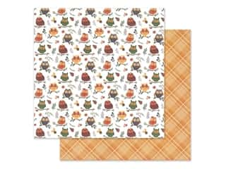 Photo Play Collection Mad 4 Plaid Fall Paper in. Whoo Loves You (25 pieces)