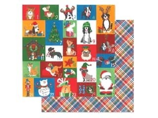 scrapbooking & paper crafts: Photo Play 12 x 12 in. Paper Muttcracker Countdown (25 pieces)