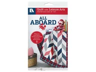 Leisure Arts All Aboard Quilt Pattern