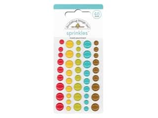 Doodlebug Collection I Heart Travel Sprinkles Travel Assortment