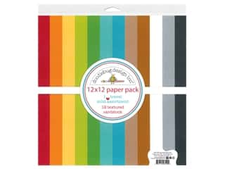 Doodlebug Collection I Heart Travel Paper Pack 12 in. x 12 in. Textured
