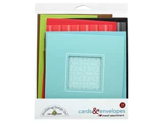 Doodlebug Collection I Heart Travel Card & Envelope