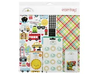 Doodlebug Collection I Heart Travel Essentials Kit