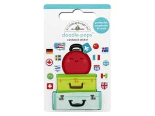 Doodlebug Collection I Heart Travel Doodle Pops Pack Your Bags